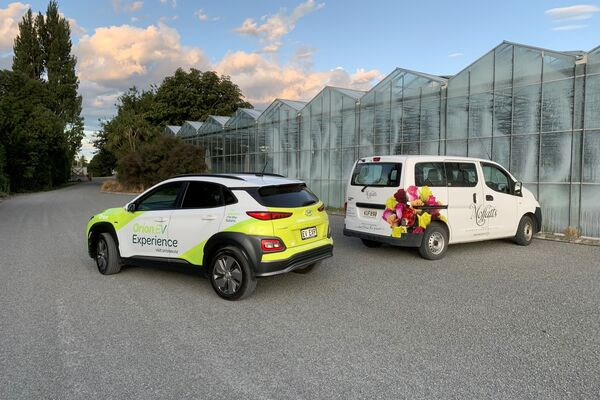 <p>Lenny, from Moffatts Flower Co Ltd 'The EV's are better then I hoped they would be and as for charging points on the road, they are everywhere already I just wasn't looking at them before'</p>