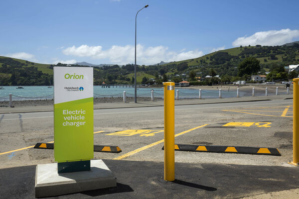 Orion EV Charger in Akaroa